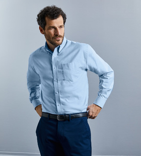 Russell Easy Care LSL Oxford Shirt