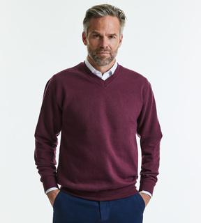 Russell V-Neck Sweatshirt