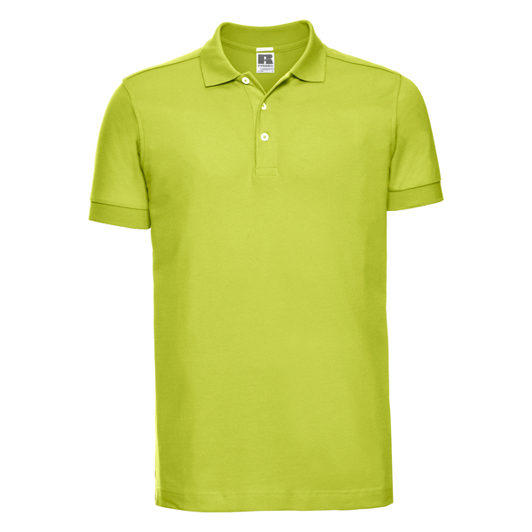 c98d60853a Polonagyker - Russell Men's Stretch Polo