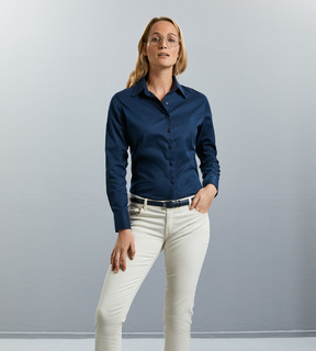 Russell Ladies LSL Classic Twill Shirt