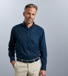 Russell Mens LSL Classic Twill Shirt