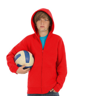 B&C Hooded Full Zip /kids
