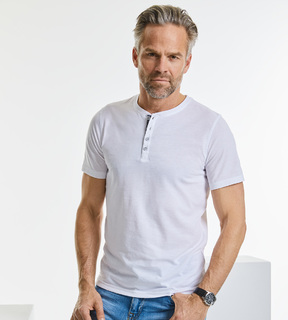 Russell Men's Henley HD Tee