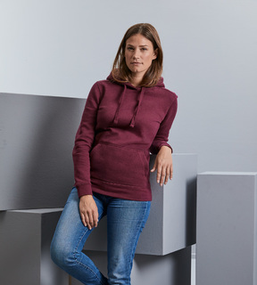 Russell Ladies Authentic Melange Hooded Sweat