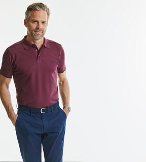 Russell Men's Tailored Stretch Polo