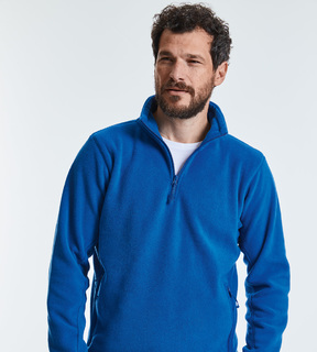 Russell Adult Quarter Zip Outdoor Fleece