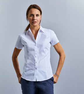 Russell Ladies Short Sleeve Tailored Coolmax® Shirt