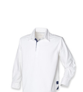 Front Row Classic Long Sleeve Plain Drill Shirt