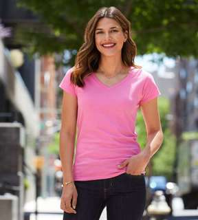 Gildan L64V00 Ladies V-neck T