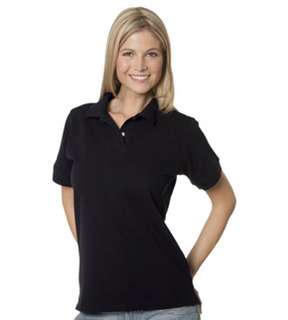 Gildan Premium Combed Ring Spun Ladies Pique Polo