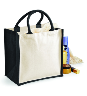 Westford Mill Printers' Midi Jute Bag