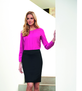 Brook Taverner Juliet Straight Skirt