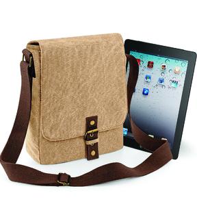 Quadra Vintage Canvas iPad/ Tablet Reporter