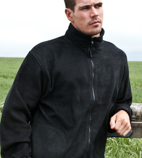 100% Recycled Full Zip Fleece